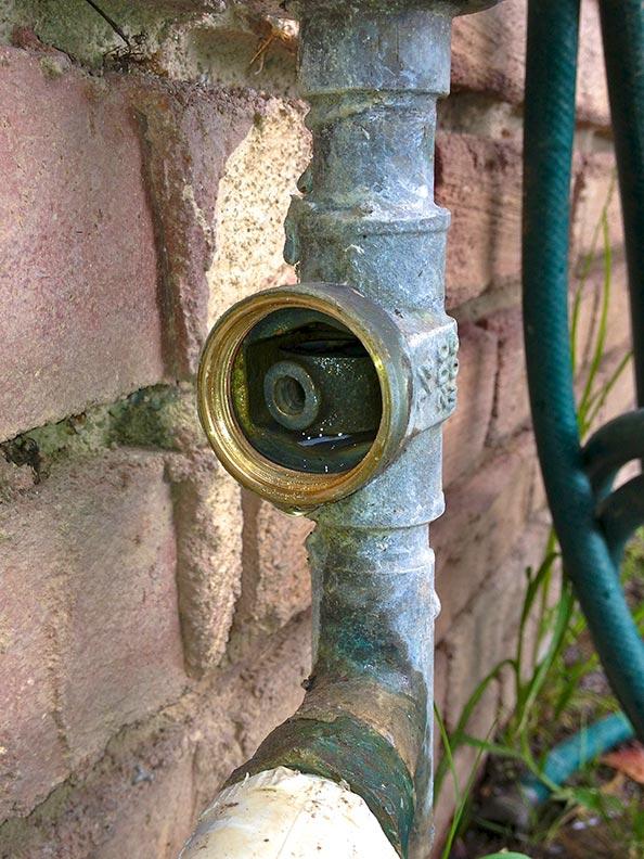 broken gate valve fallen gate