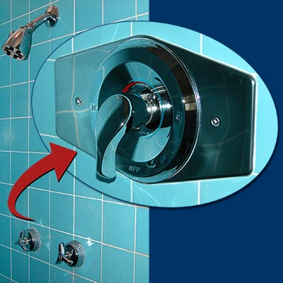 Tub Shower two handle to single handler mixer upgrade